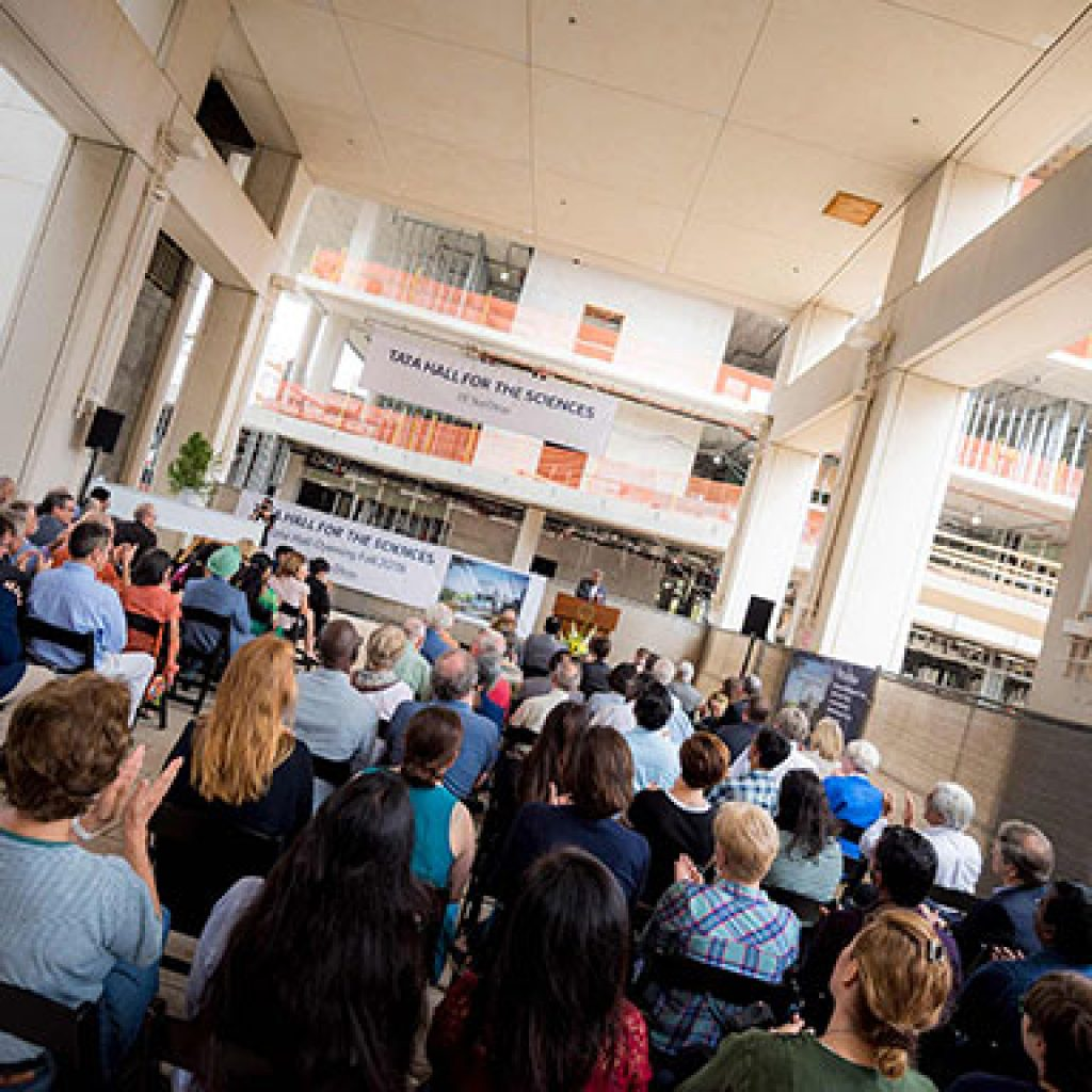 Tata Institute for Genetics and Society Advances with Building Naming, Inaugural Chair Holders